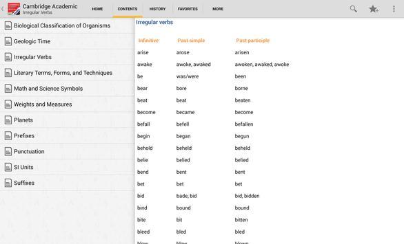 Audio Cambridge Academic TR apk screenshot