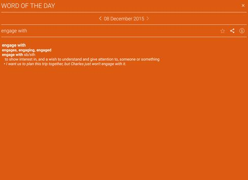 Cambridge Phrasal Verbs apk screenshot