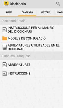 Catalan Dictionary / Thesaurus apk screenshot