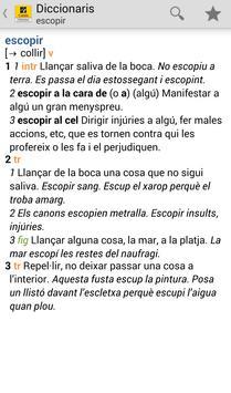 Catalan Dictionary / Thesaurus poster