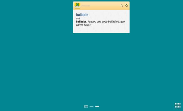 Advanced Catalan Thesaurus TR apk screenshot