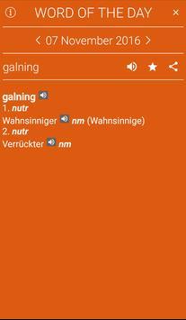 German<>Danish Mini Dictionary apk screenshot