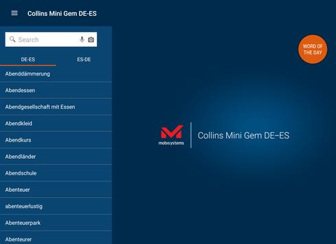 German<>Spanish Dictionary apk screenshot
