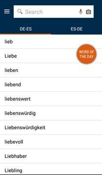 German<>Spanish Dictionary poster