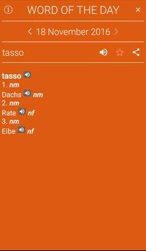 German<>Italian Dictionary apk screenshot