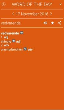 German<>Norwegian Dictionary apk screenshot