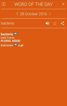 English<>German Dictionary apk screenshot