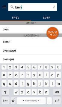 French<>Swedish Gem Dictionary apk screenshot
