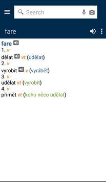 Italian<>Czech Gem Dictionary apk screenshot