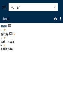 Italian<>Finnish Gem Dict apk screenshot