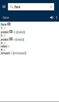 Italian<>Polish Gem Dictionary apk screenshot