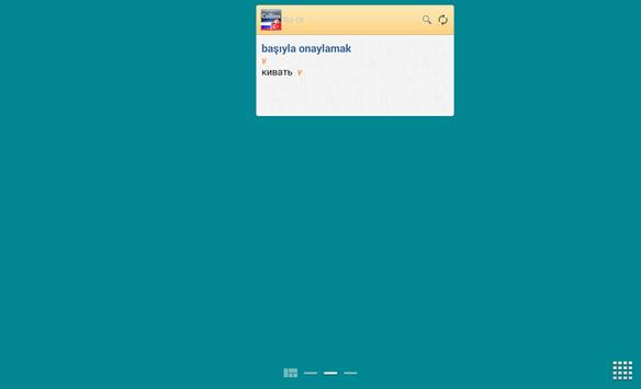 Russian<>Turkish Dictionary T apk screenshot