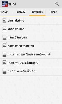 Thai<>Vietnamese Dictionary TR apk screenshot