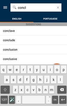 Collins Portuguese Dictionary apk screenshot