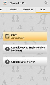 iLeksyka English-Polish Trial apk screenshot