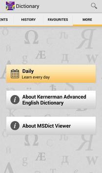 Kernerman Advanced English TR apk screenshot