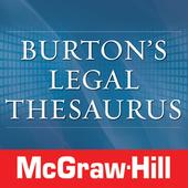 Burton's Legal Thesaurus TR icon
