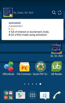 Concise Oxford English apk screenshot