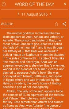 Oxford World Mythology apk screenshot