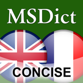 Dictionary English<>French Tr icon