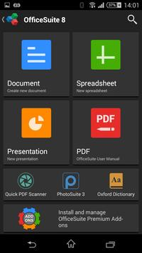 OfficeSuite Free for China apk screenshot