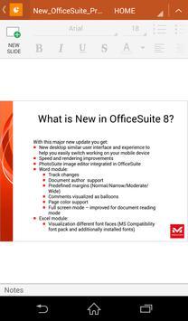 OfficeSuite 8 Free DoCoMo apk screenshot
