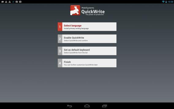 OfficeSuite QuickWrite apk screenshot