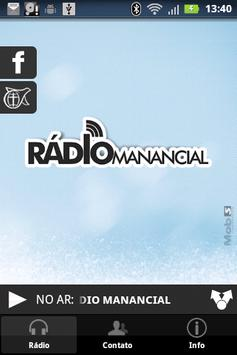 Rádio Manancial apk screenshot