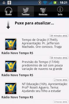 Rádio Novo Tempo 99.9 FM apk screenshot