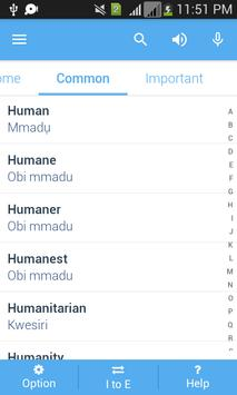 Igbo Dictionary apk screenshot