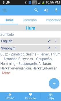 Portuguese Dictionary apk screenshot