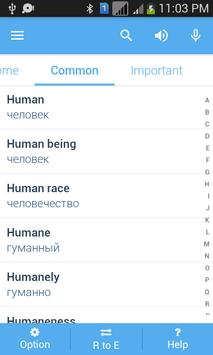 Russian Dictionary apk screenshot