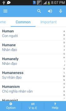 Vietnamese Dictionary apk screenshot