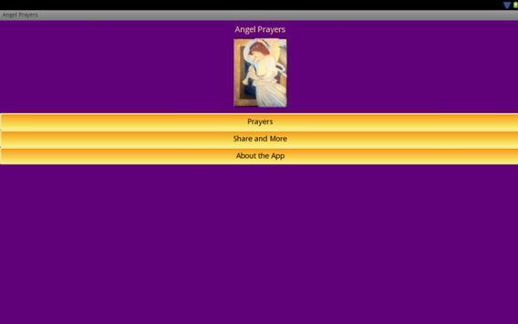 Angel Prayers apk screenshot