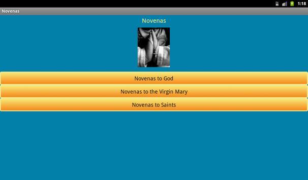 Novenas apk screenshot