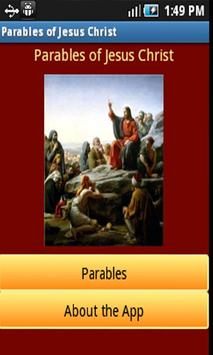 Parables of Jesus Christ poster
