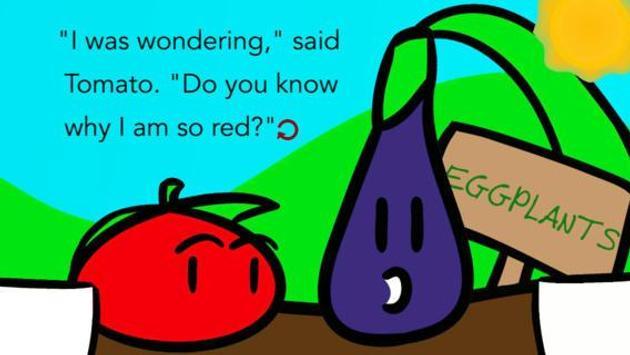 Tomato-A Love Story apk screenshot