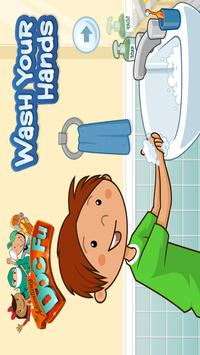 Doc-Fu: Hand Washing poster