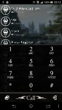 exDialer Nordic theme poster