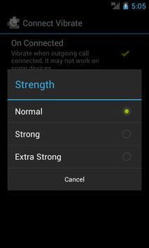 ExDialer ConnectVibrate Plugin apk screenshot