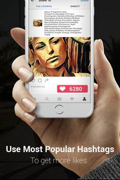 Top Tags for Instagram Likes apk screenshot