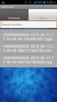 Modern Call Recorder apk screenshot