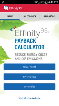 Effinity93 Payback Calculator poster