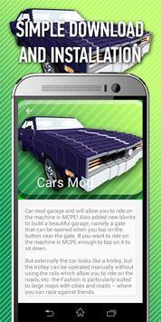 Guide: Car Mods for MCPE apk screenshot