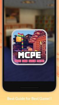 Hide N Seek Caves MCPE Map apk screenshot