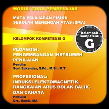 Modul GP Fisika SMA KK-G poster