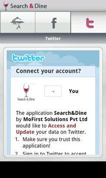 Search & Dine apk screenshot