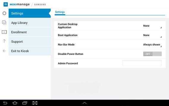 MokiManage Samsung apk screenshot
