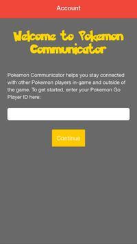 Communicator for Pokemon Go apk screenshot