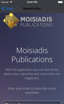 Moisiadis Publications apk screenshot